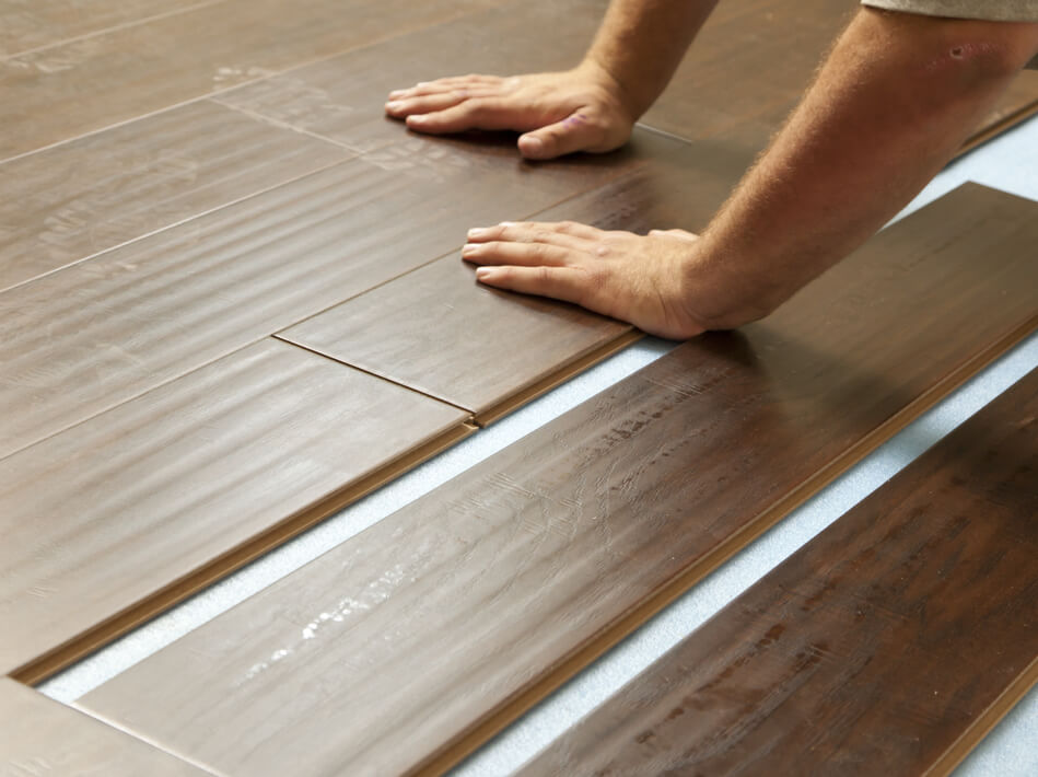 Laminate installation | Neils Floor Covering