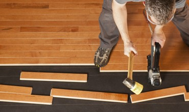 Hardwood installation | Neils Floor Covering