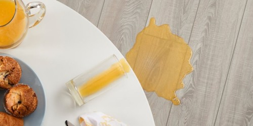 Juice spill on Vinyl flooring | Neils Floor Covering
