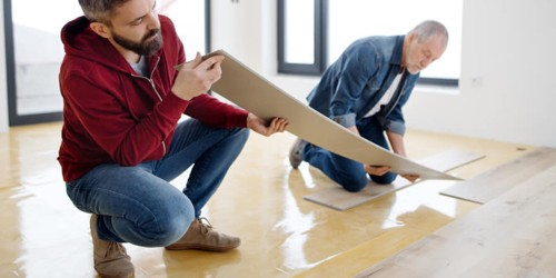 Vinyl installation | Neils Floor Covering