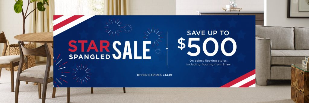 Star spangled sale | Neils Floor Covering