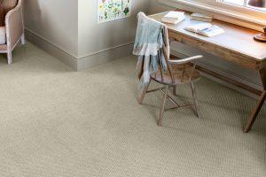 Study table on Carpet flooring | Neils Floor Covering