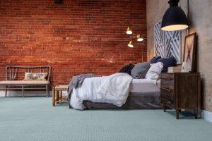 Brick wall design of bedroom | Neils Floor Covering