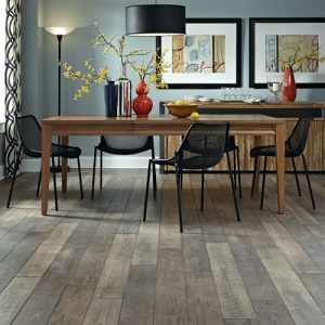 Table on Laminate flooring | Neils Floor Covering