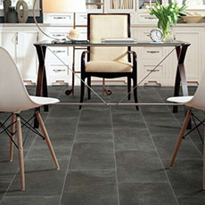 Black Tile flooring | Neils Floor Covering