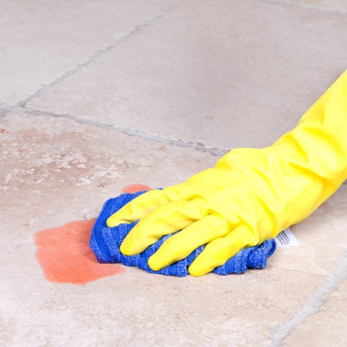 Cleaning stain off of tile | Neils Floor Covering