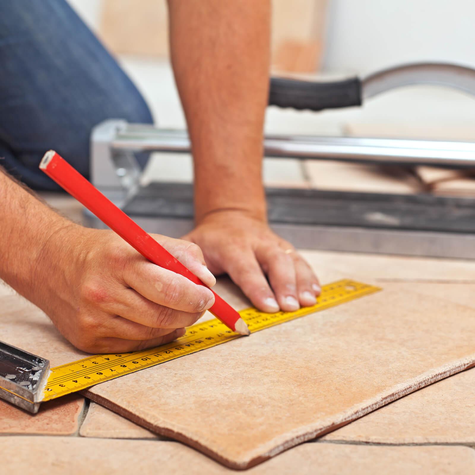 Tile installation | Neils Floor Covering